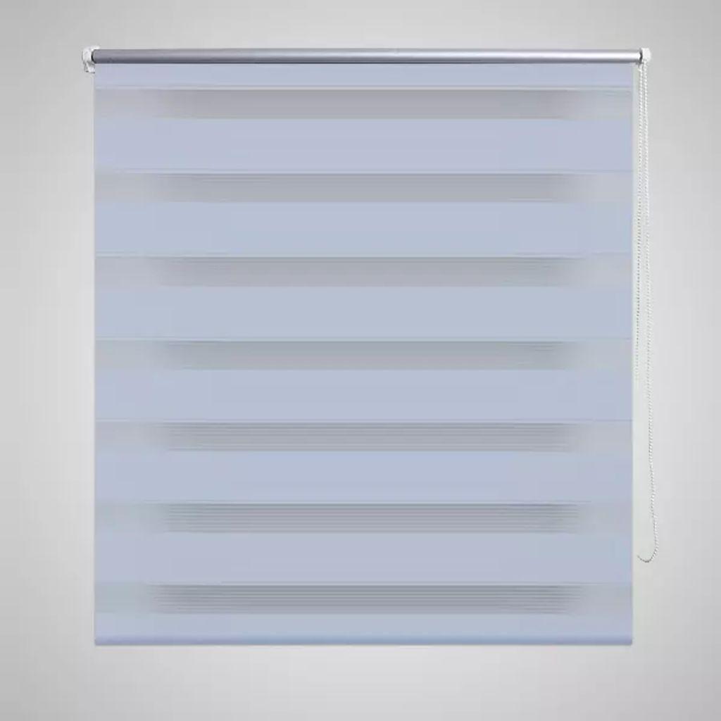 Roleta w pasy (100 x 175 cm), biała