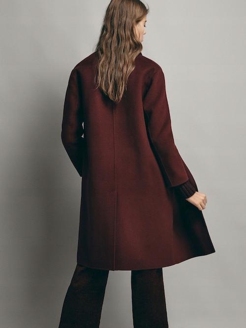 LUX, Massimo D.,80% Wełniany płaszcz, L jak XL