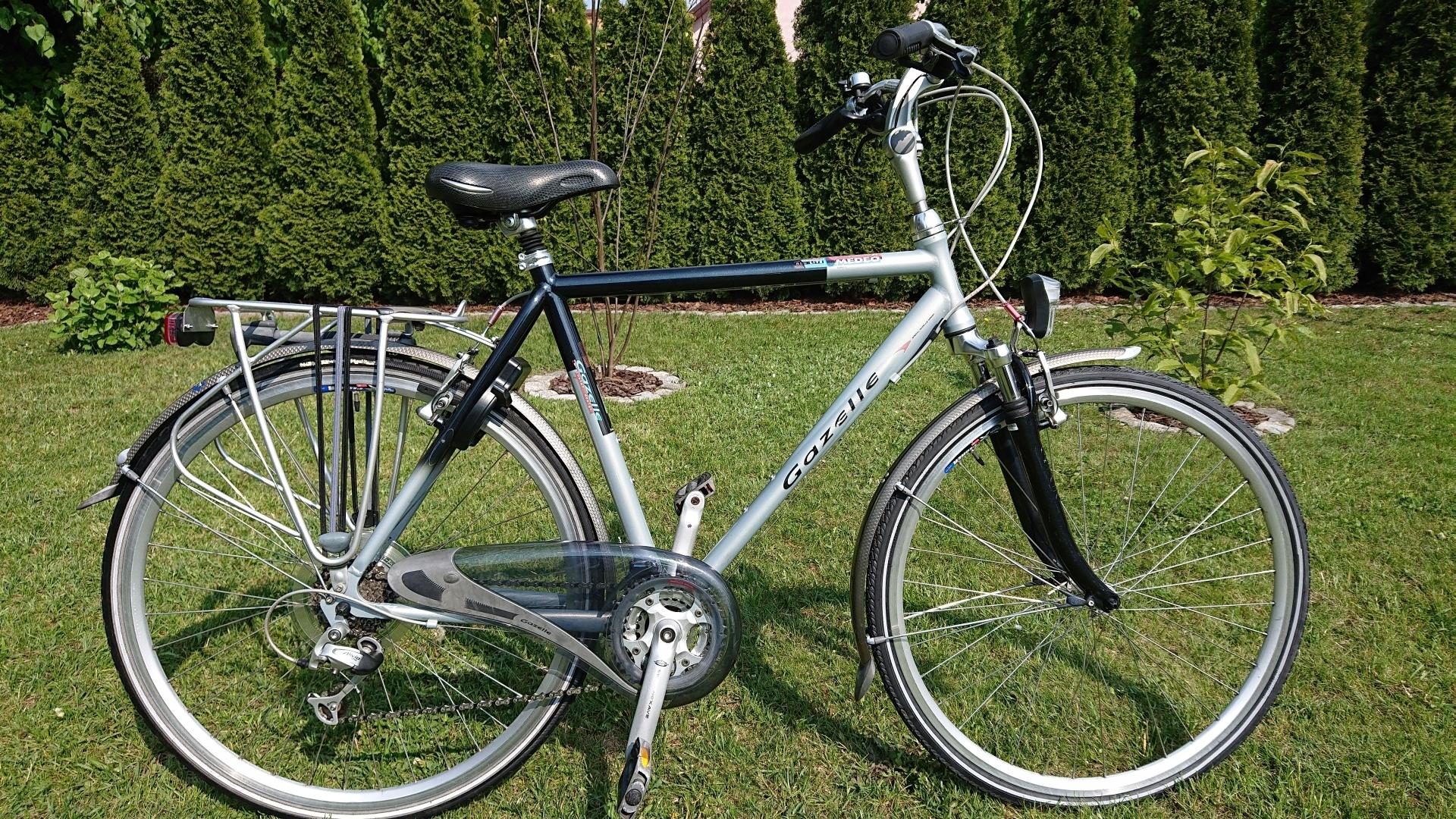 Rower meski Gazelle Medeo, Alivio 24biegi D57
