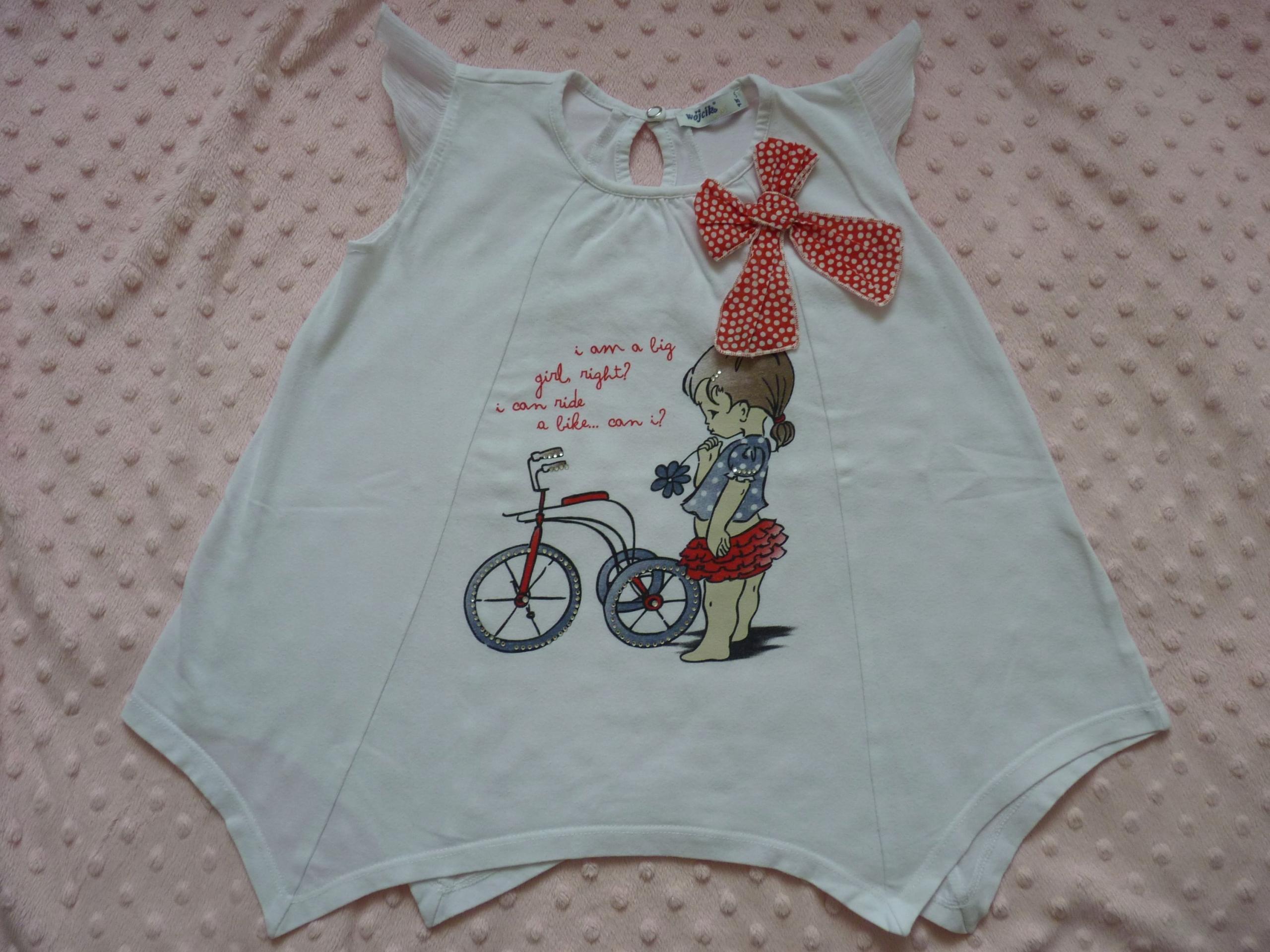 WÓJCIK tunika bluzka Jestem Dużą Dziewczynką 98