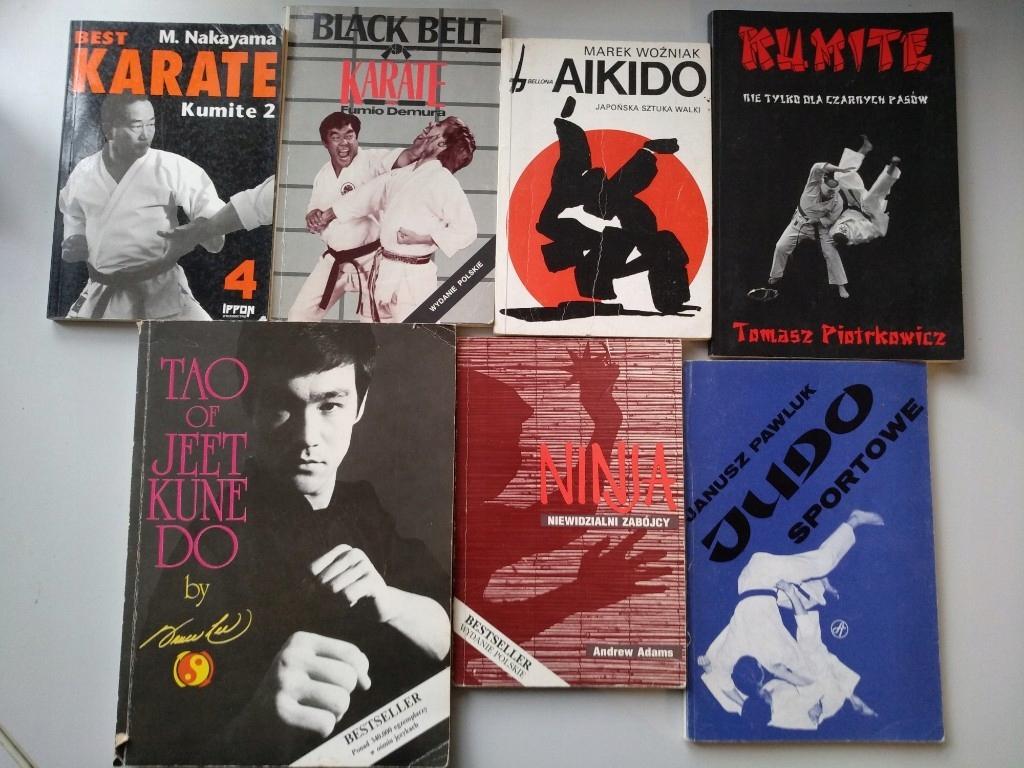 Ksiazki sstuki walki Jeet kune do Bruce Lee karate