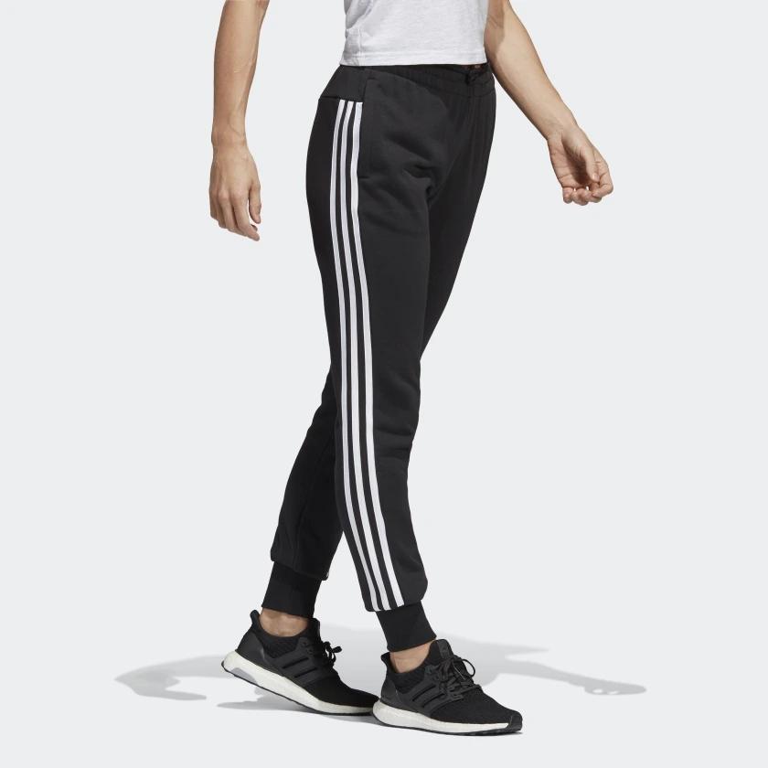 wysoka jakość Cena hurtowa najwyższa jakość Spodnie Adidas dresy rurki czarne bawełna 24H L - 7797257701 ...