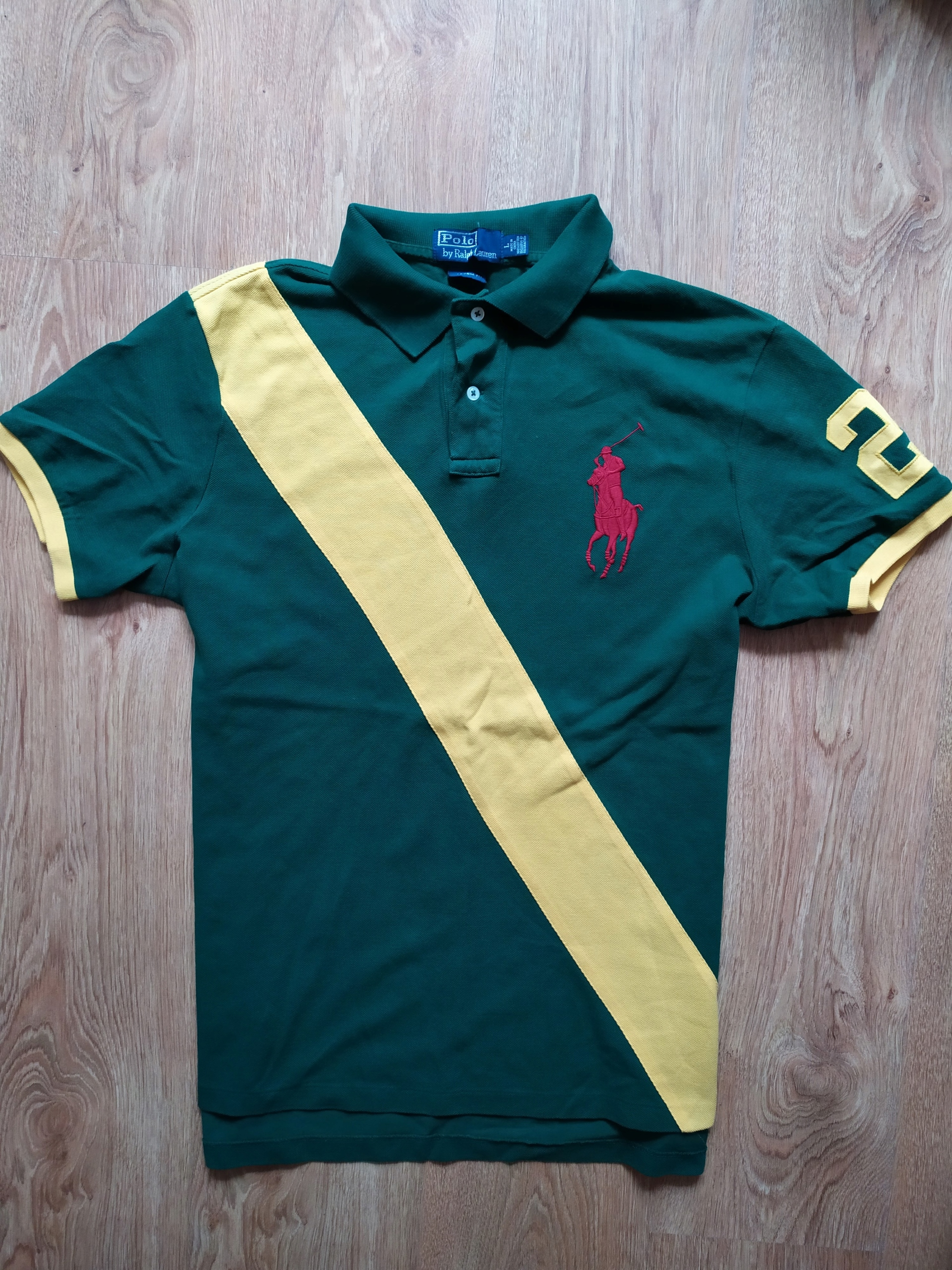 koszulka polo Ralph Lauren Custom Fit L bdb