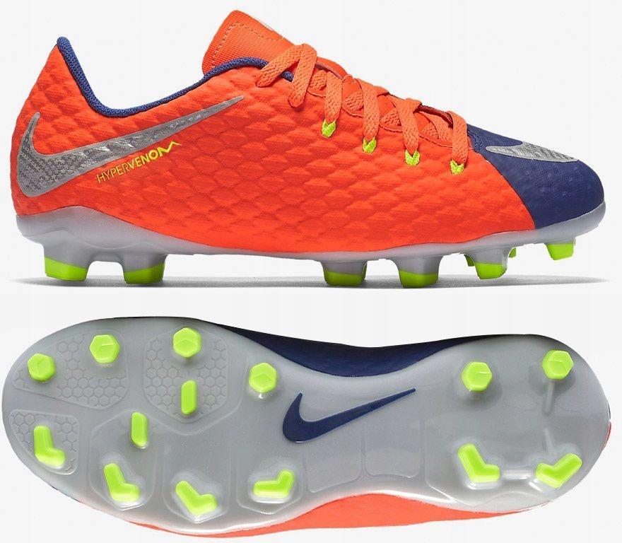 Nike Buty piłkarskie Jr Hypervenom Phelon III FG