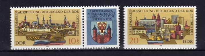 DDR - 2343-44, 2368 ** 1978 r