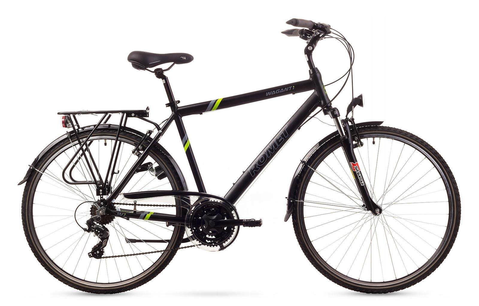 1628173 - 21 L Rower ROMET WAGANT 1 czarny z zie