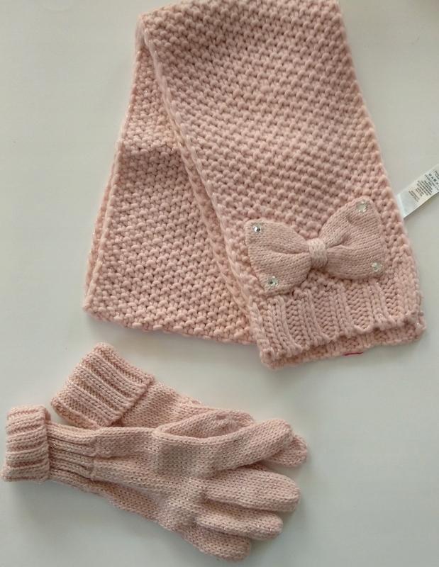 Szalik i rękawiczki r 8-12 lat (CZ79)