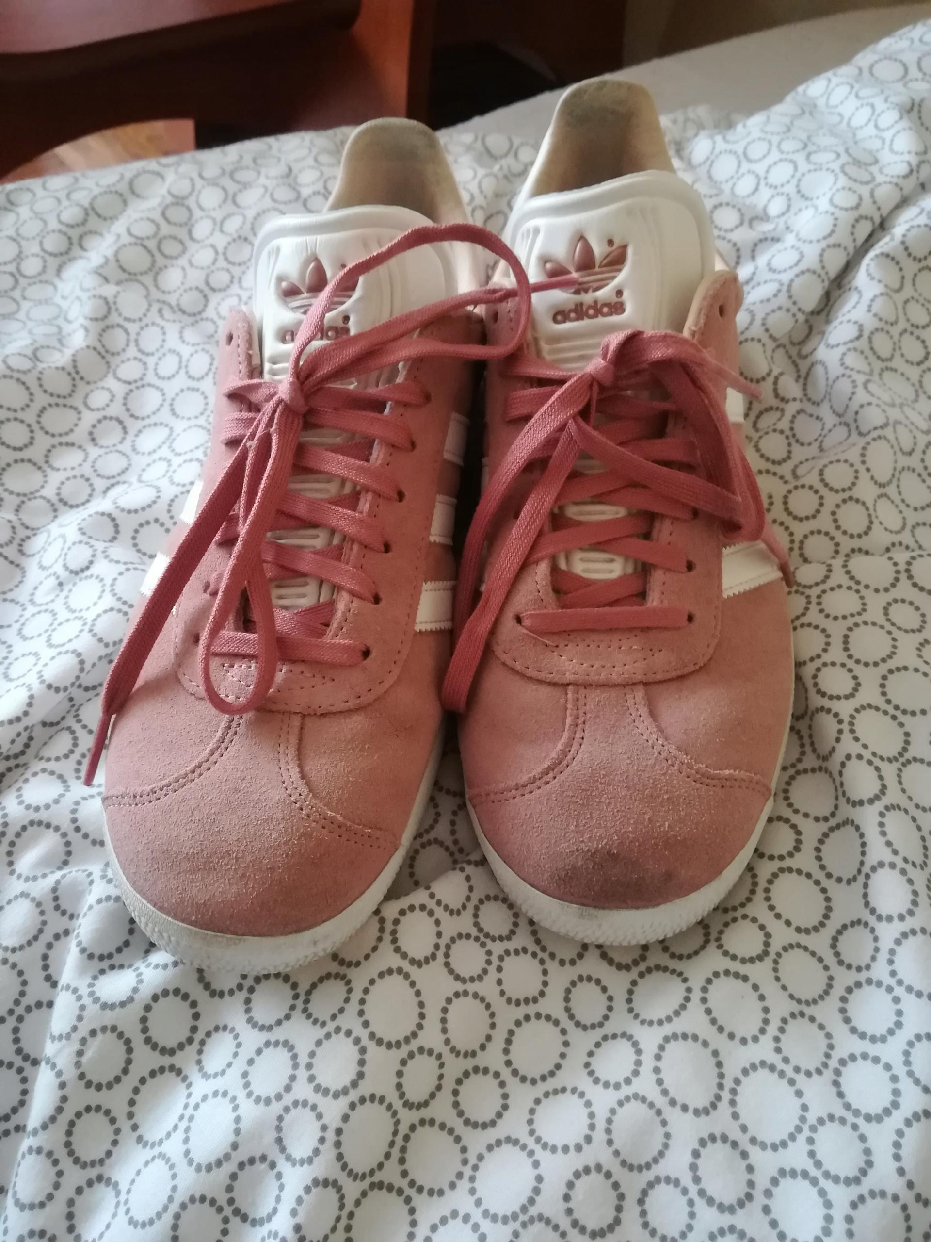 Buty Gazzele Pudrowy Róż Adidas 40 7815832960 oficjalne