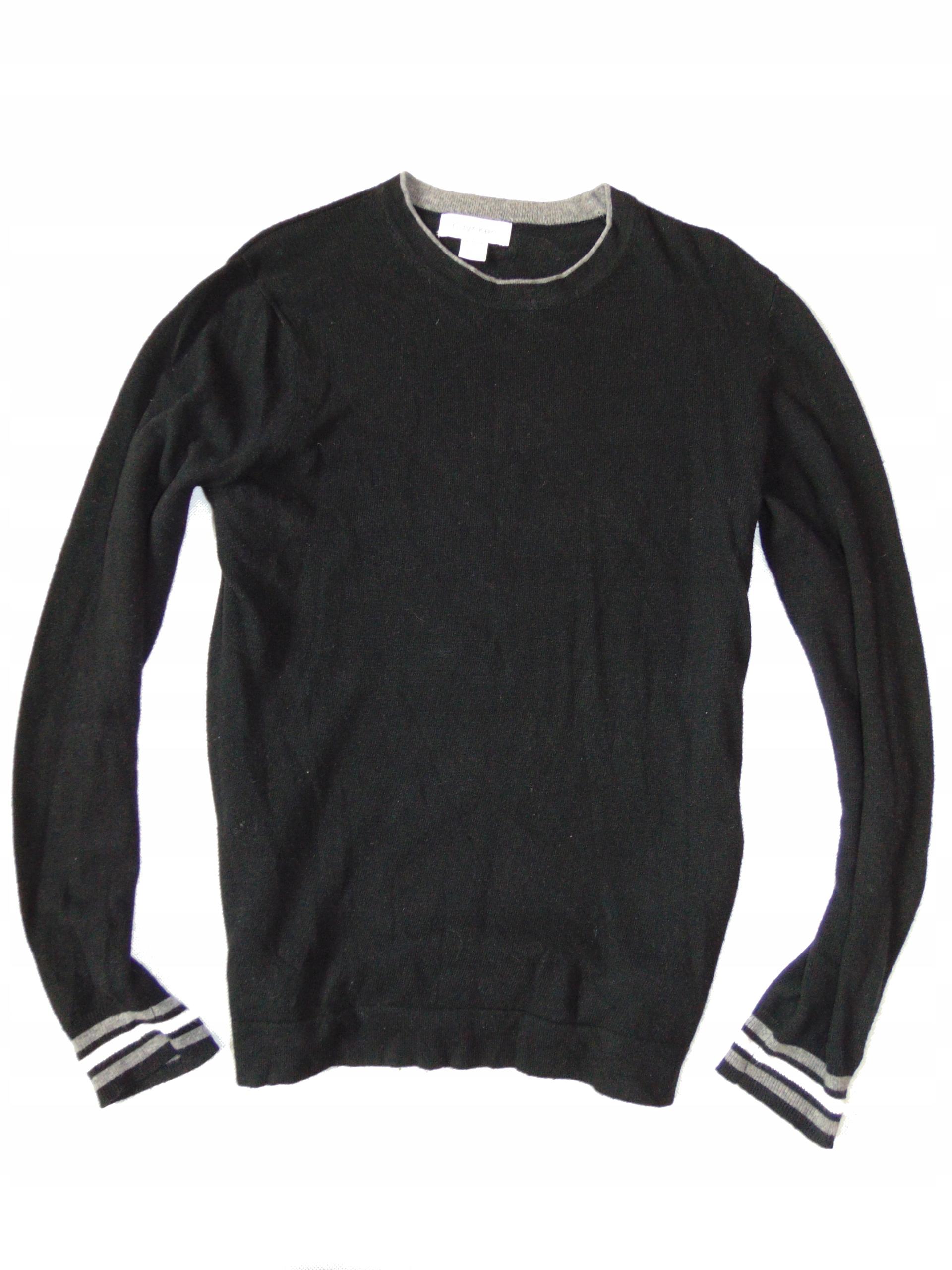 CALVIN KLEIN lekki sweterek męski r XS ok 164 170