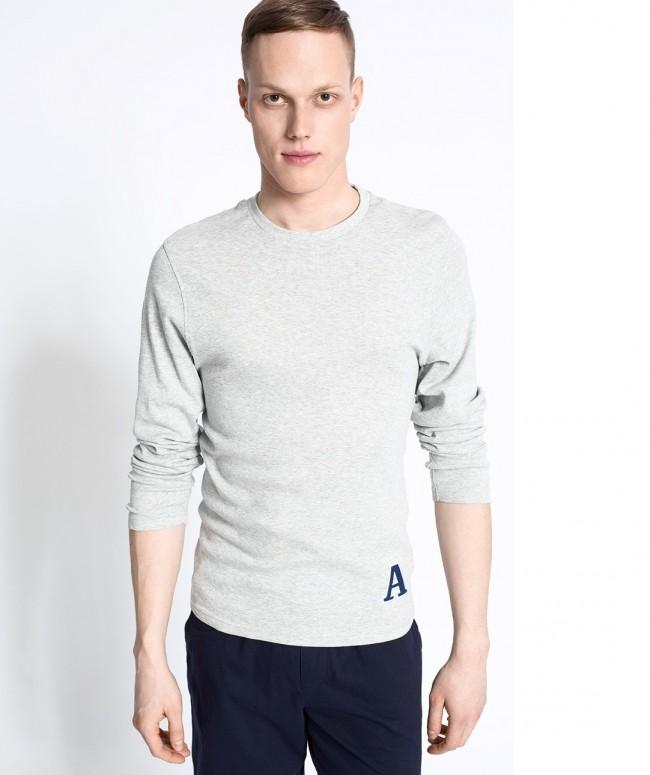 Atlantic bawełna NMB006 bluza góra piżamy L WAWA