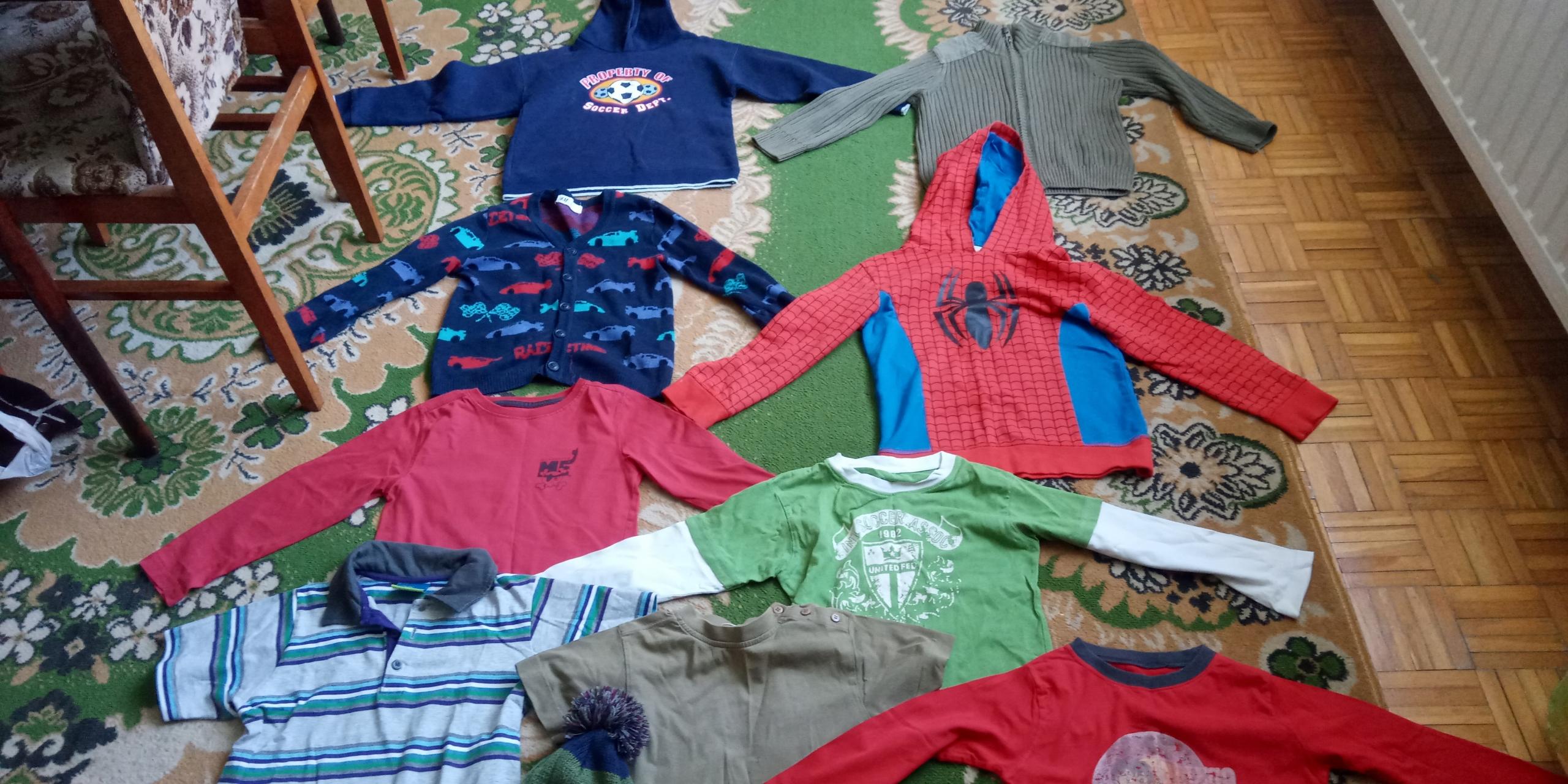 TopolinoH&M paka 10 ubrań r.116 chłopak 5-6 l.
