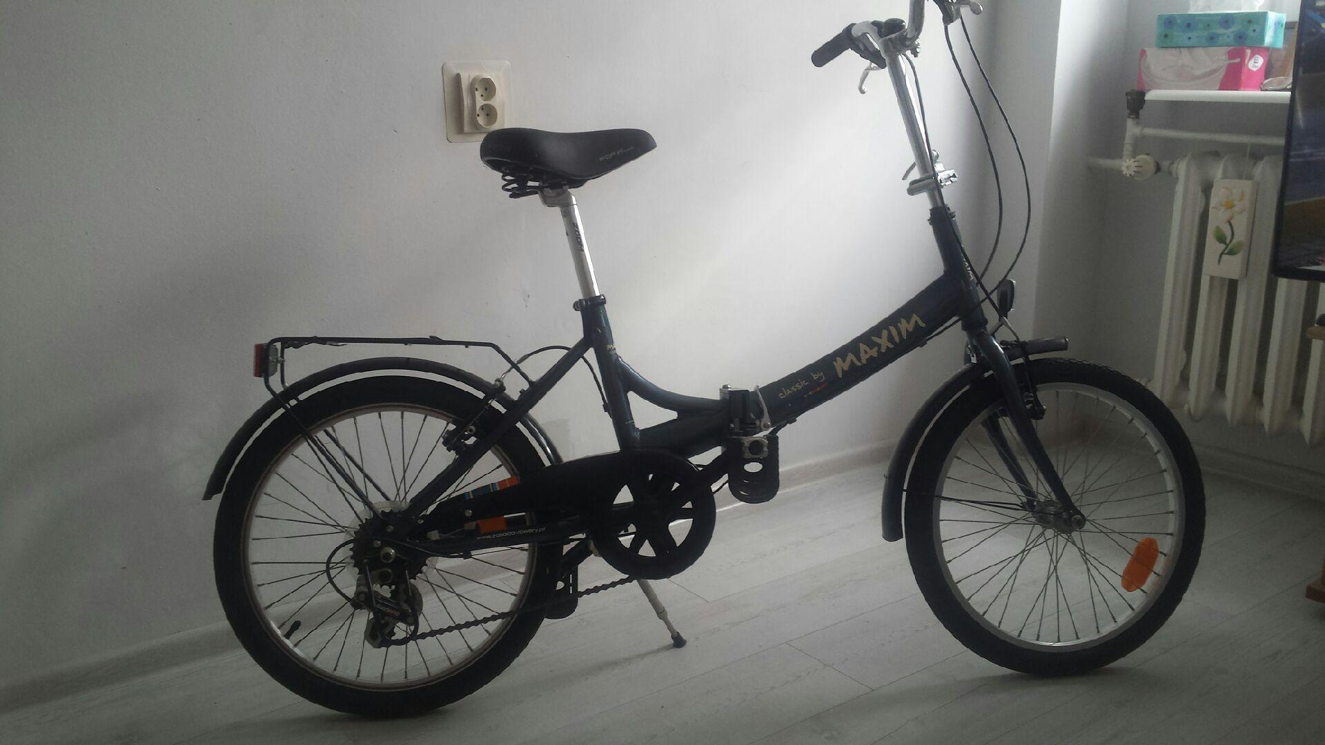 Rower składany Maxim
