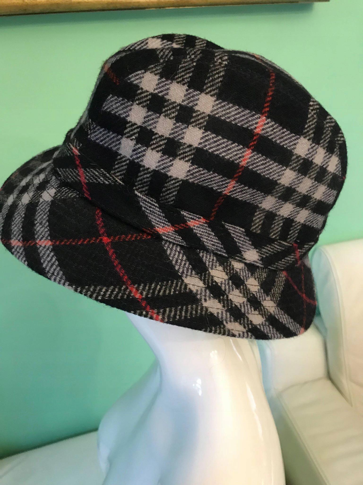 BURBERR - kapelusz kapelusz vintage bucket hat