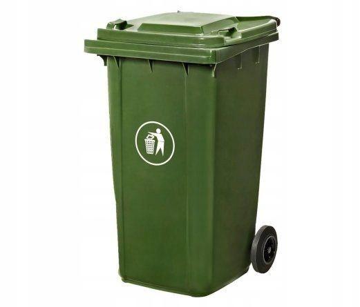 Kubeł pojemnik śmietnik na śmieci 240l koła kosz f