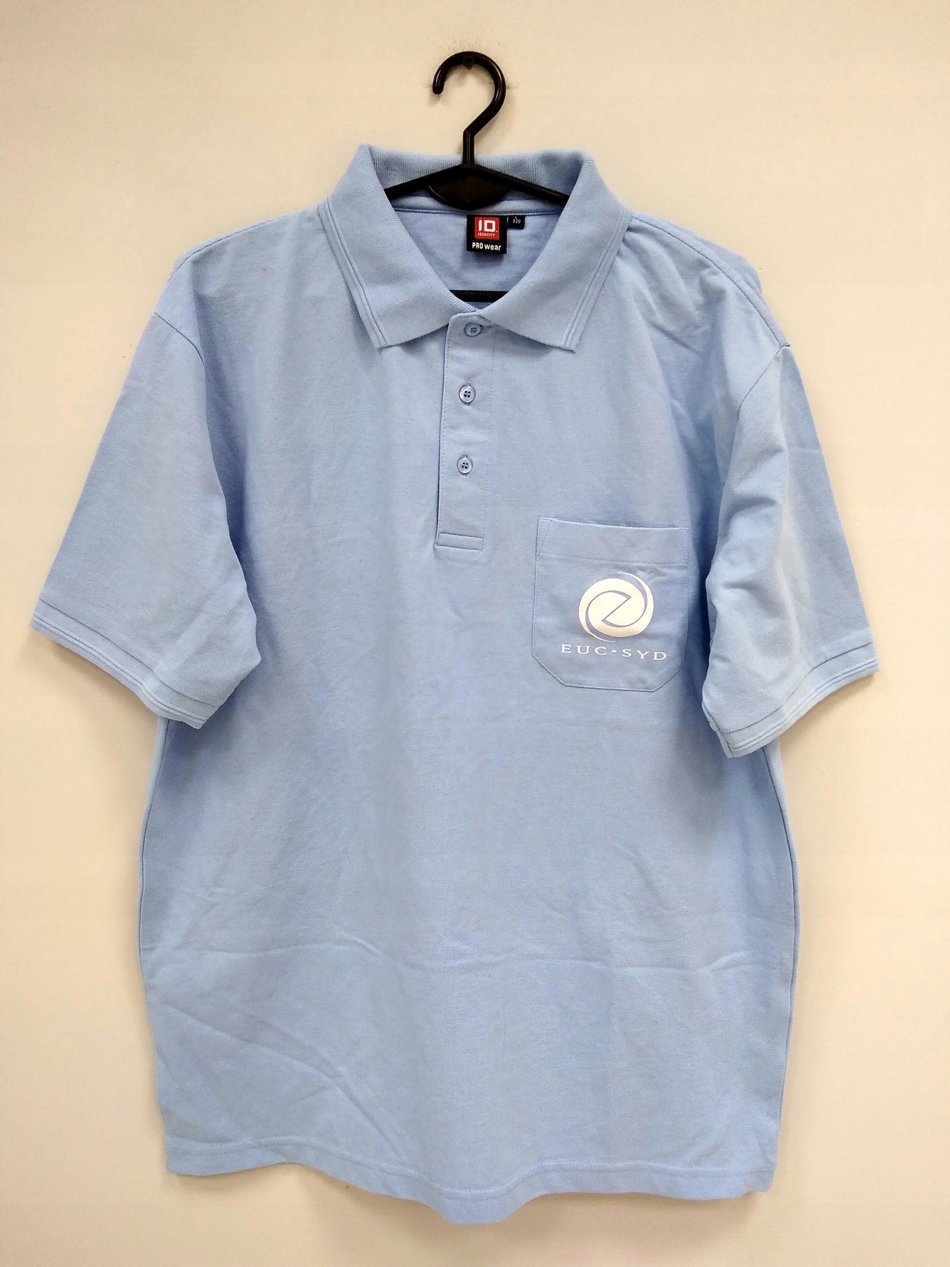 Polo baby blue błękitne niebieskie męskie r. L Z1