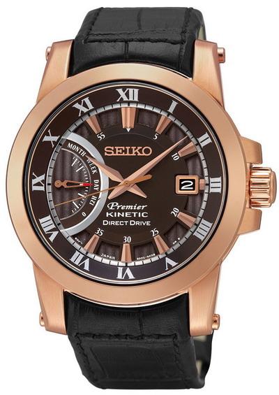 zegarek SEIKO Premier Kinetic SRG016P1 GWARANCJA