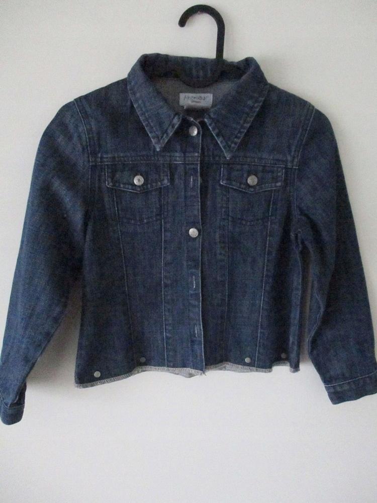 Kurtka jeansowa r. 122-128