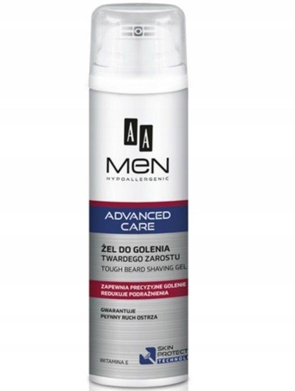 AA Men Advanced Care Tough Beard Shaving Gel żel d