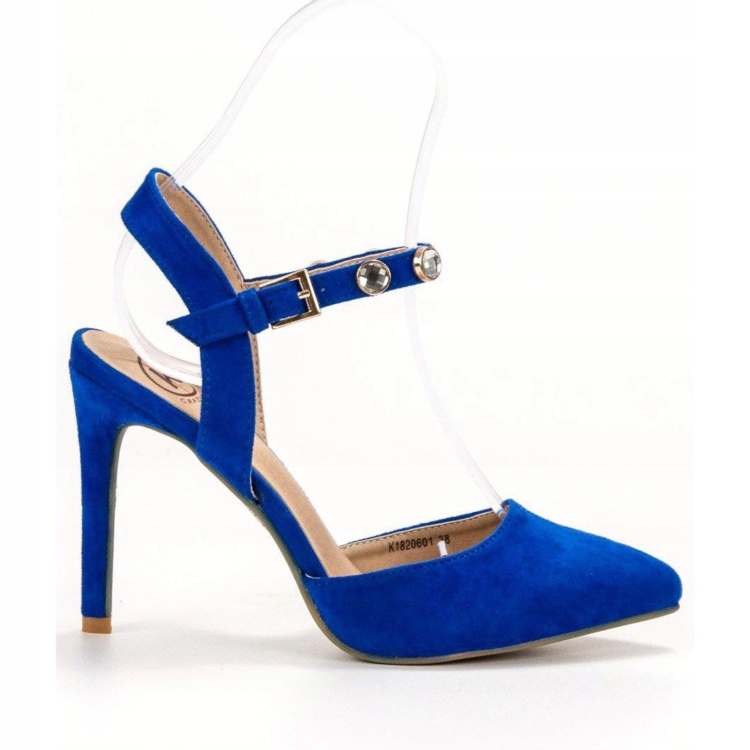 Kylie czółenka damskie niebieskie r.38