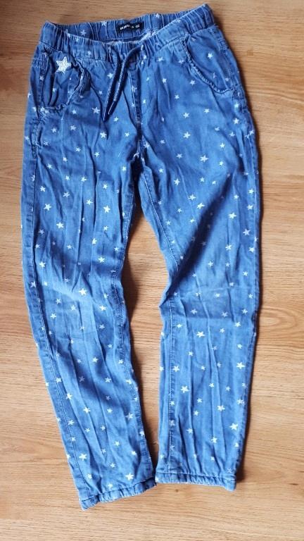 Spodnie dziewczęce na podszewce RESERVED 122/128