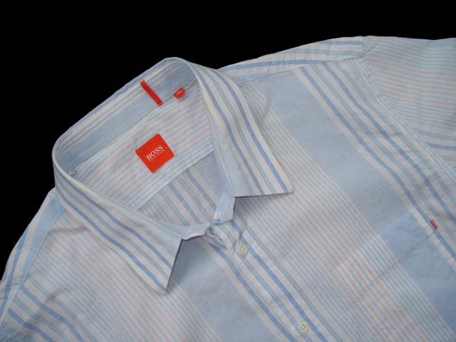 HUGO BOSS ___ ORANGE Series' Koszula w Paski r. XL