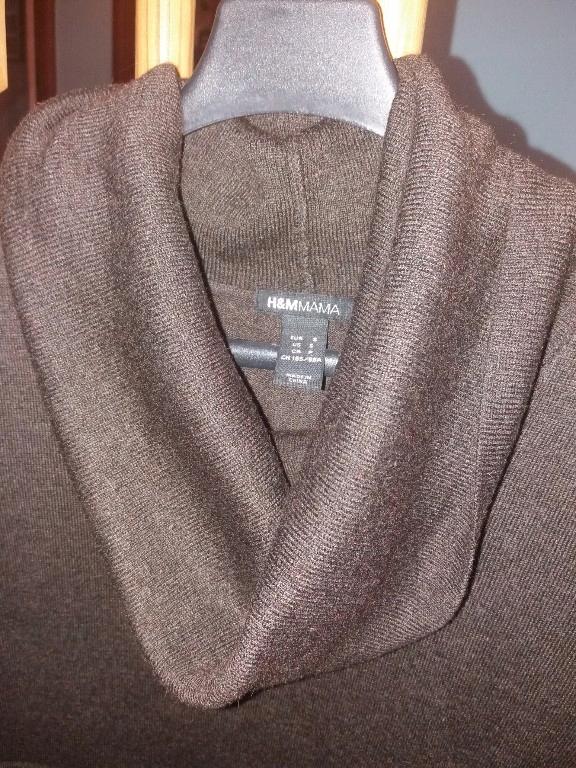 Tunika ciążowa H&M ciepła r.S