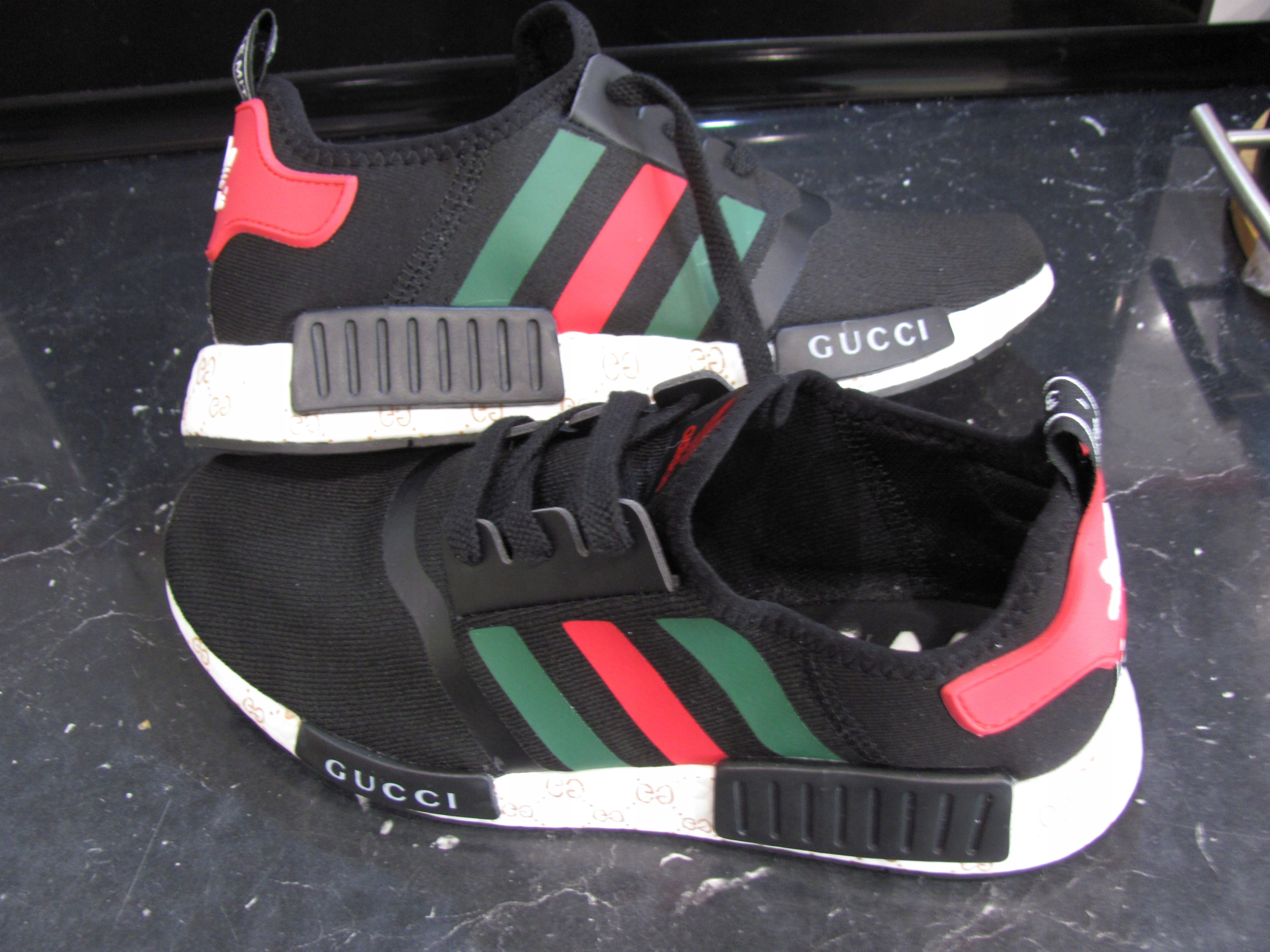 popularne sklepy tania wyprzedaż usa ekskluzywny asortyment Buty Adidas NMD Runner PK Gucci Limited Edition 42