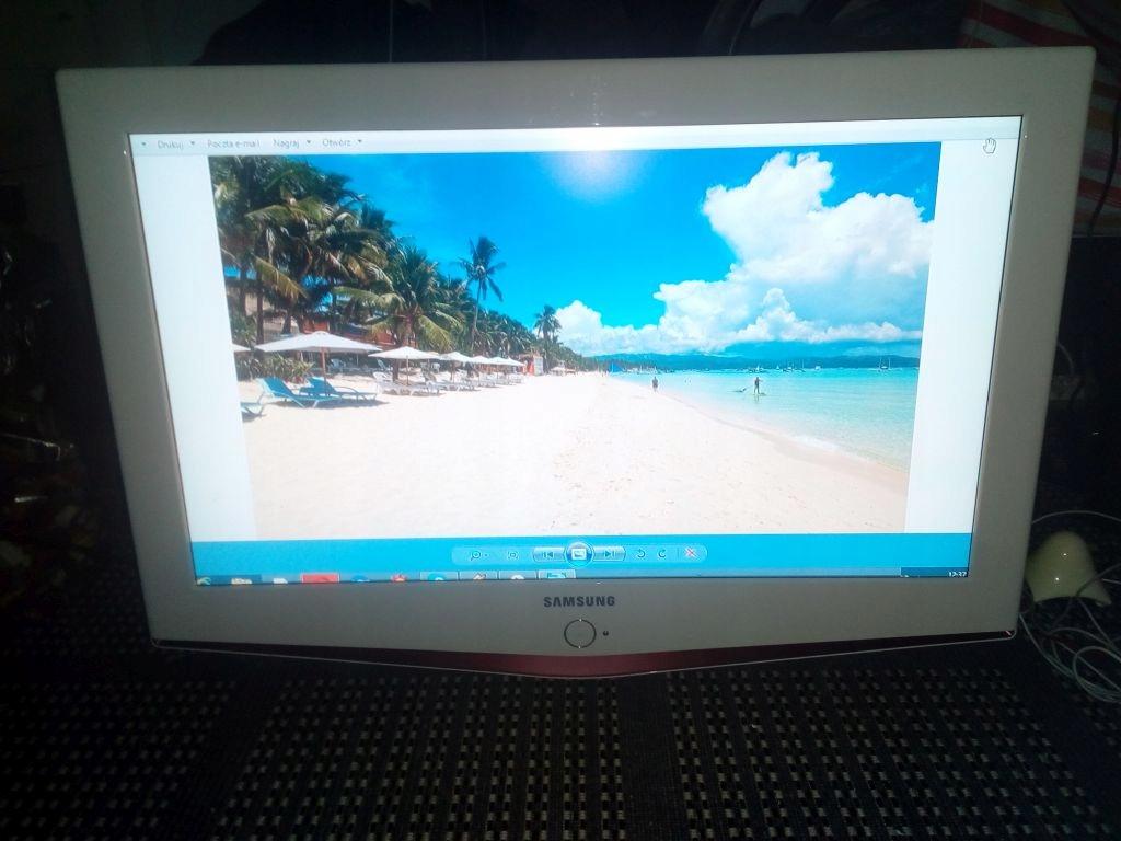"""TV SAMSUNG 32"""" hdmi, LCD LE32R71W OKAZJA !"""