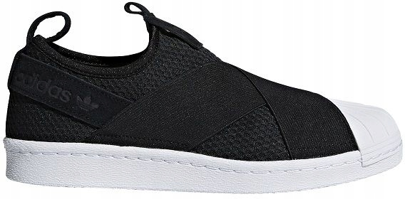 Buty adidas Superstar Slip On W B37193 CblackCblack