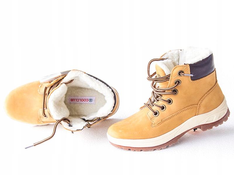 Coolclub Trapery buty ocieplane ZIMOWE śniegowce 3