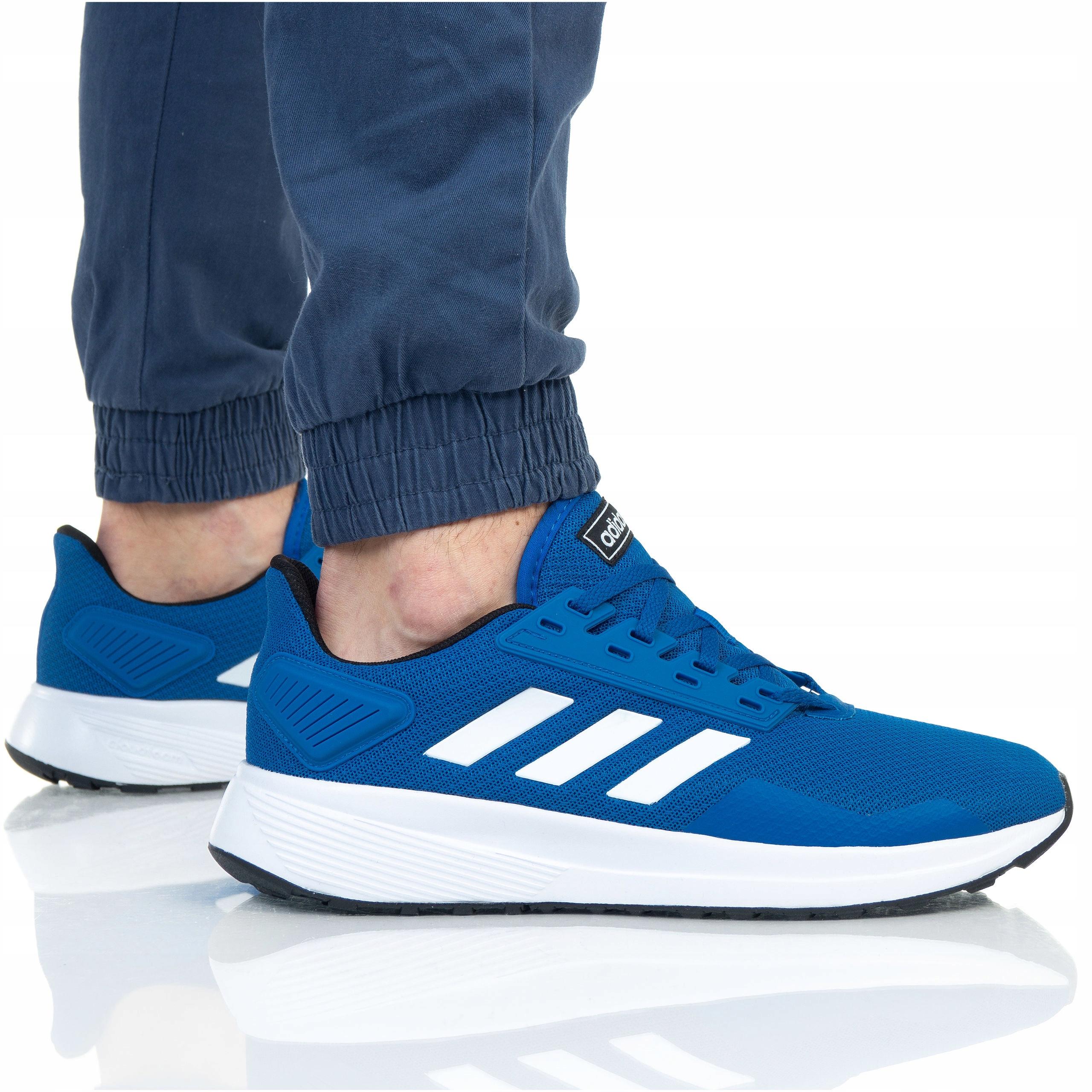 wiele modnych ekskluzywne buty super tanie BUTY ADIDAS MĘSKIE DURAMO 9 BB7067 NIEBIESKIE - 8002115961 ...