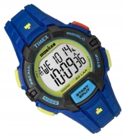 Kolorowy zegarek sportowy Timex Ironman TW5M02400