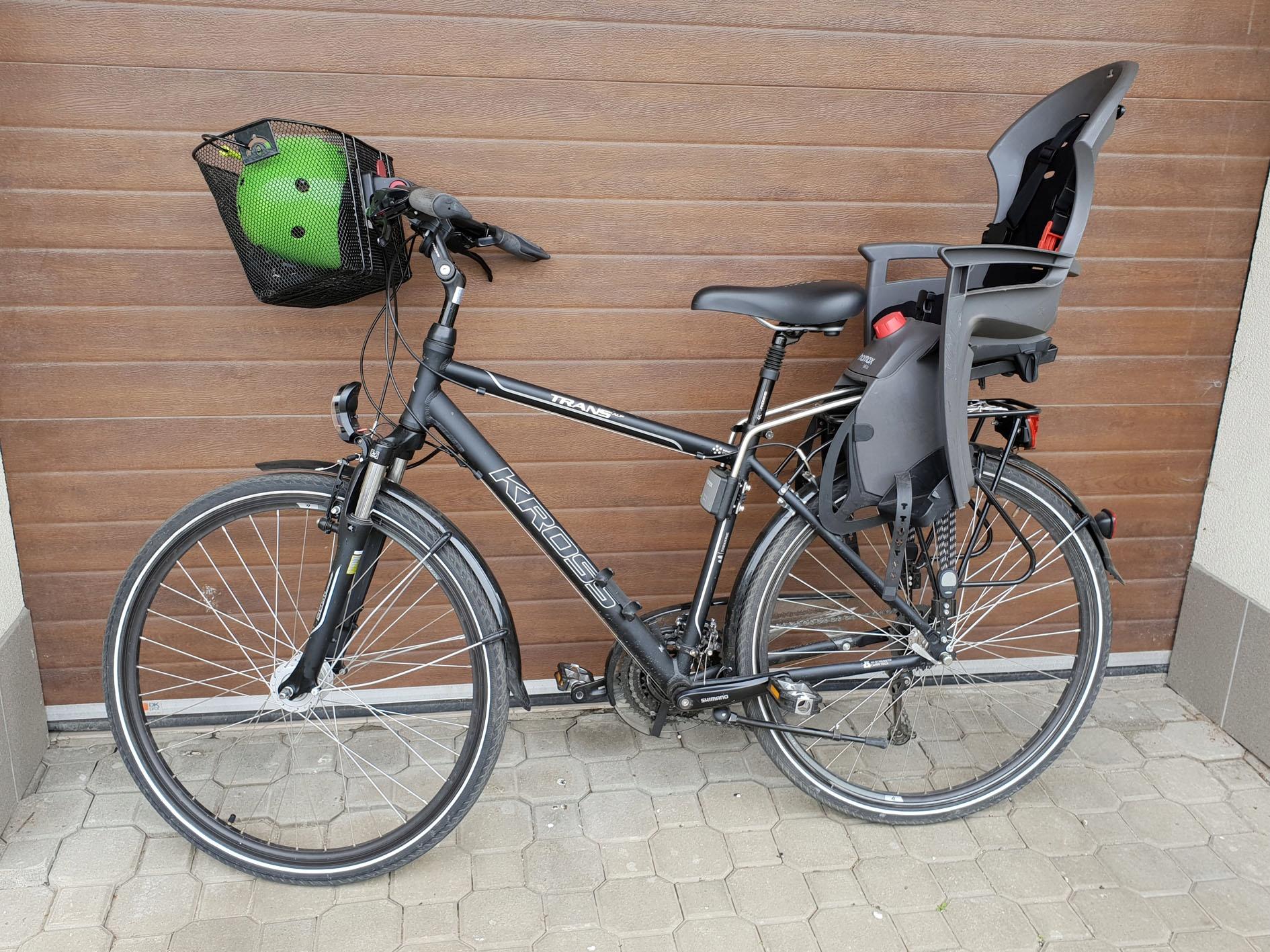 Rower KROSS TRANS ALP, 17 kg, 24 biegi