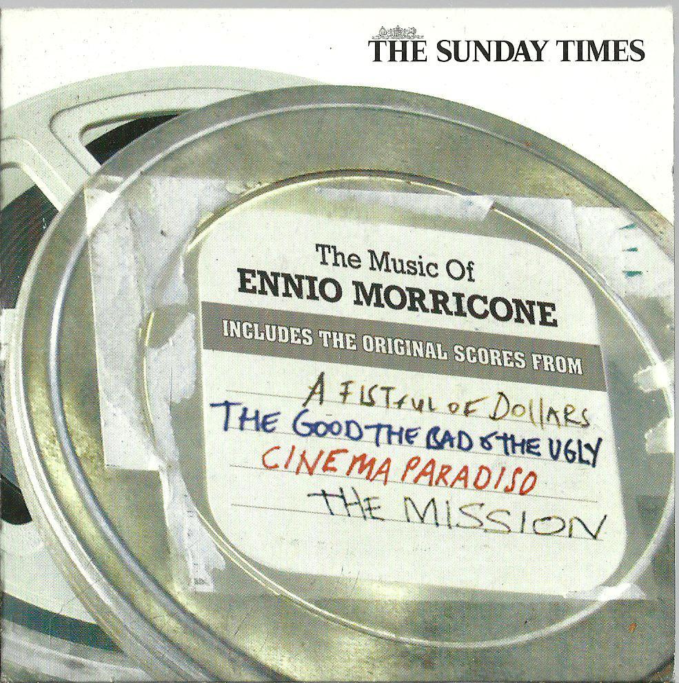 ENNIO MORRICONE THE MUSIC OF CD 2007 UK