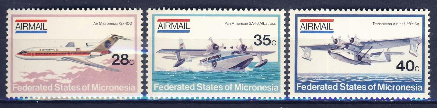 MIKRONEZJA** Mi 21-3 Lotnictwo, samoloty