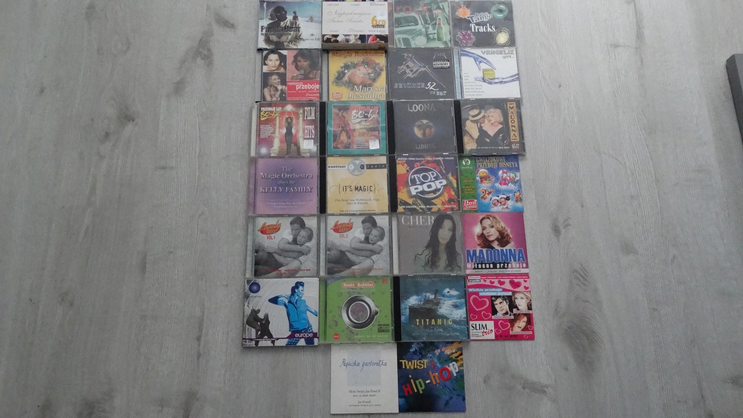 Mega zestaw płyt cd 27 sz.