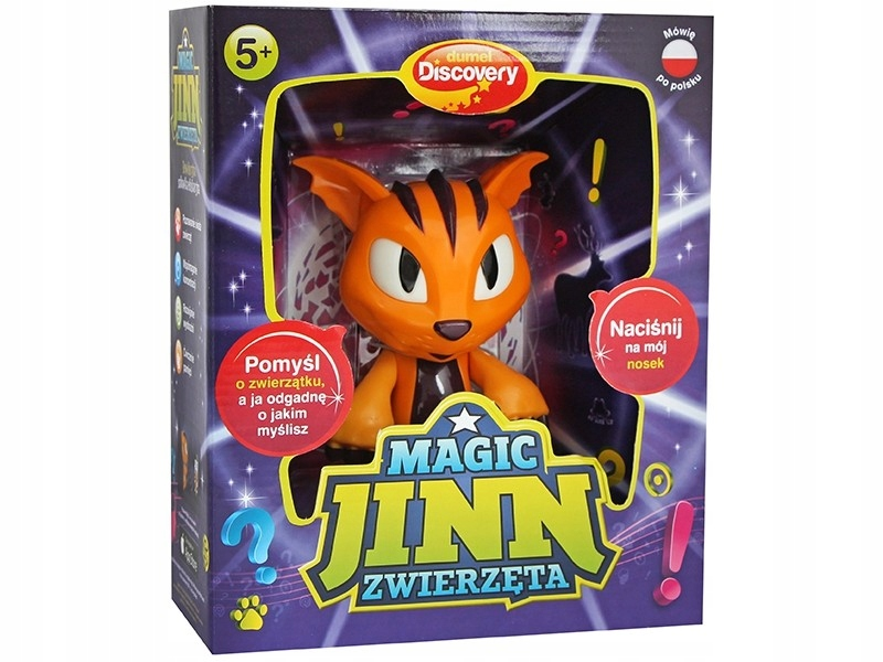 Dumel Discovery Magic Jinn zwierzęta Rewolucyjna