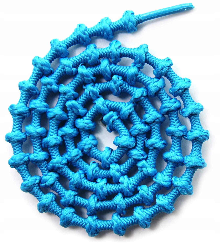 XTENEX sznurówki samo zawiązujące Turkusowe #