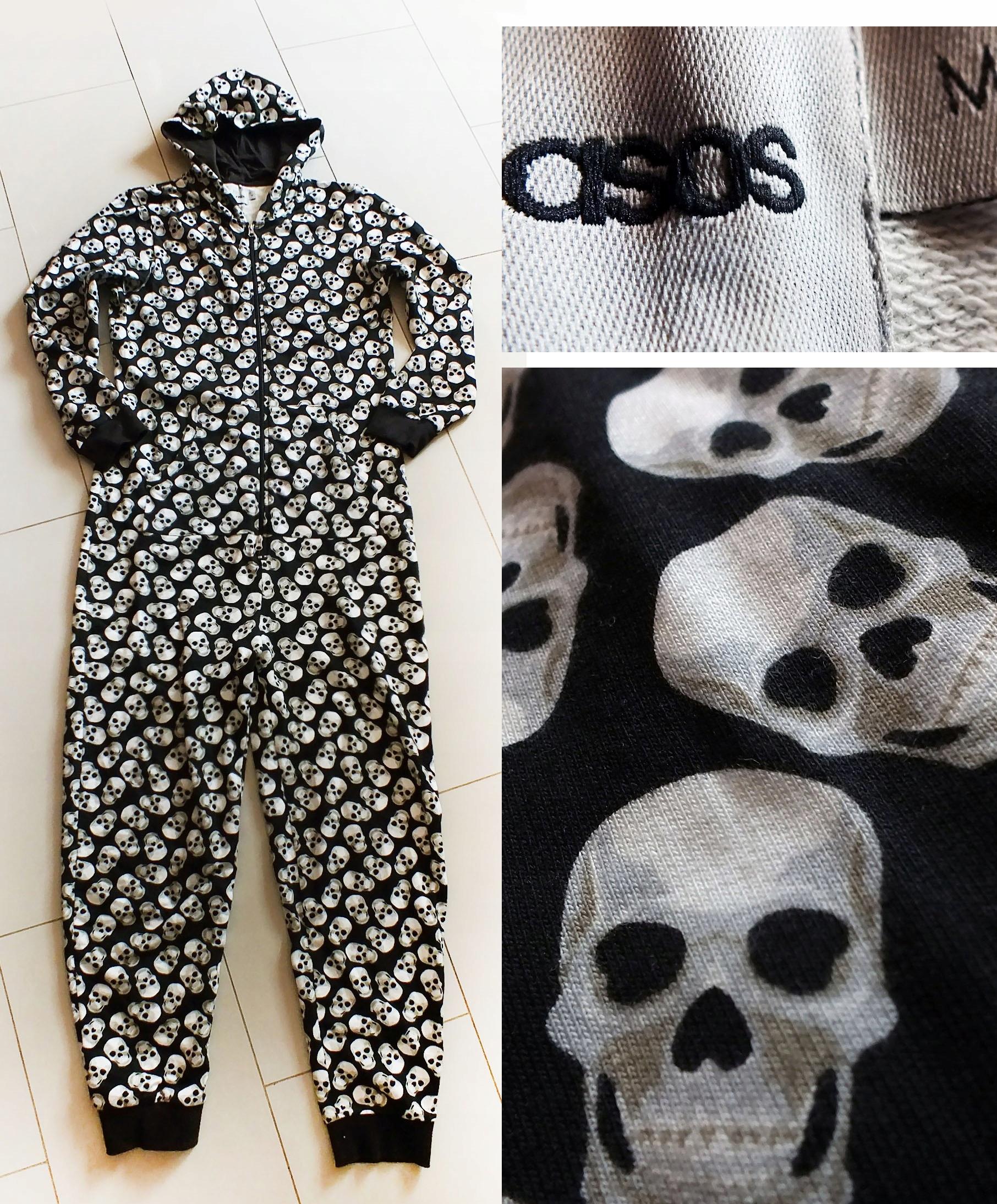 ASOS świetna piżama kombinezon czachy r.M/L