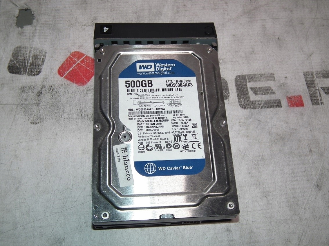 WD500AAKS TELECHARGER PILOTE