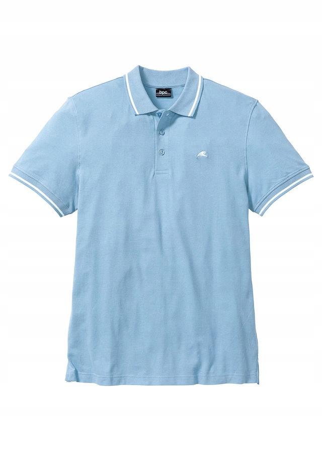 Shirt polo niebieski 56/58 (XL) 924650 bonprix