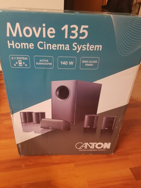 Canton movie 135 Kino domowe - zestaw 5.1 white