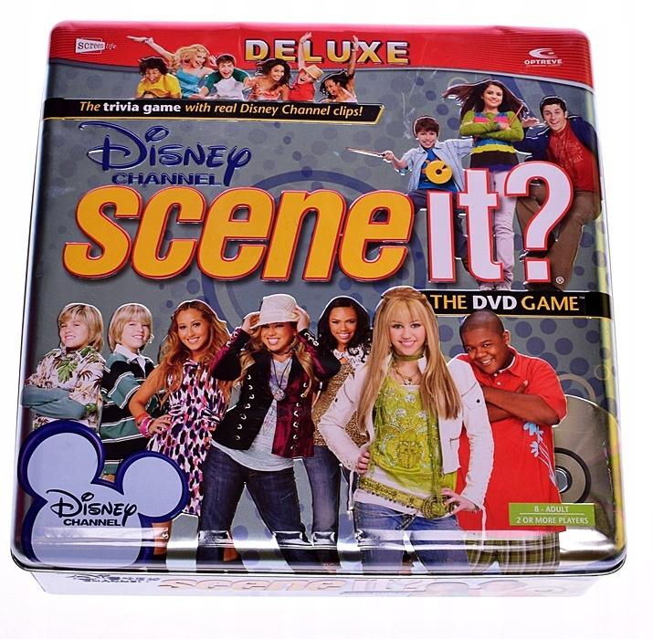 4392-3 ....OPTREVE DISNEY SCENE IT?... d#k GRA DVD