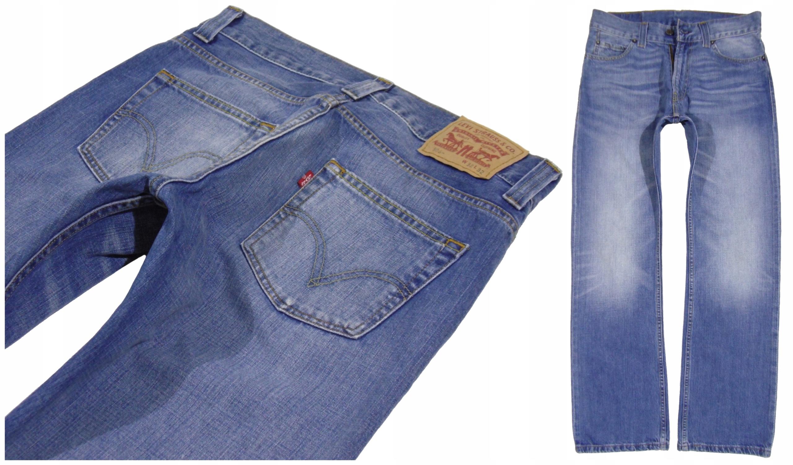 Spodnie Jeans _ LEVI'S 506 _ 32/32 _ Pas 83