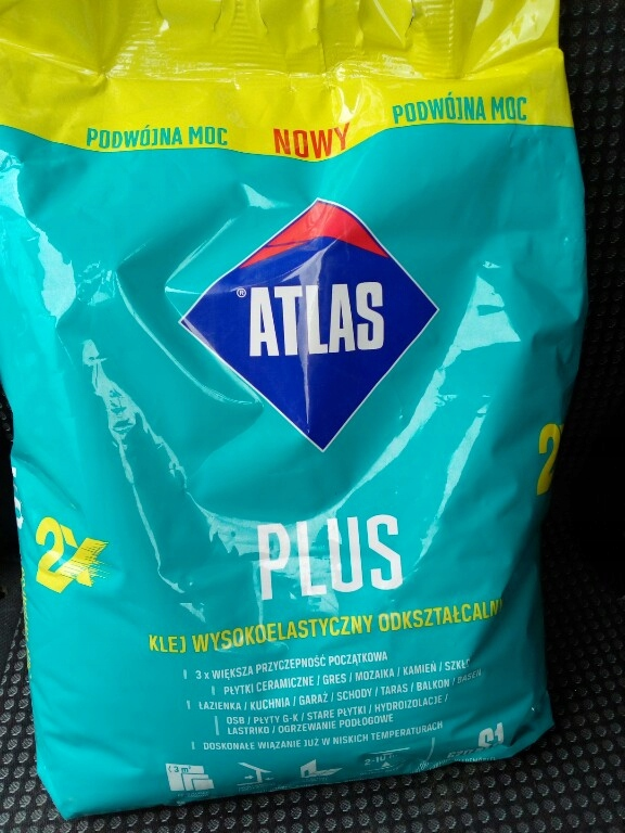 Atlas Plus Klej Do Płytek 5 Kg