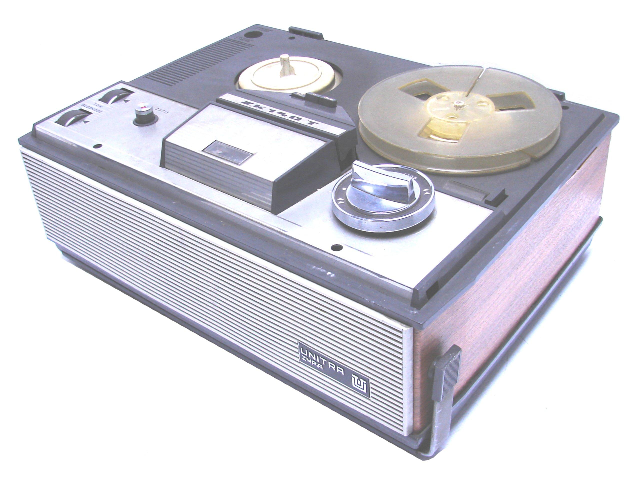 Magnetofon Szpulowy UNITRA ZK140T - DO NAPRAWY