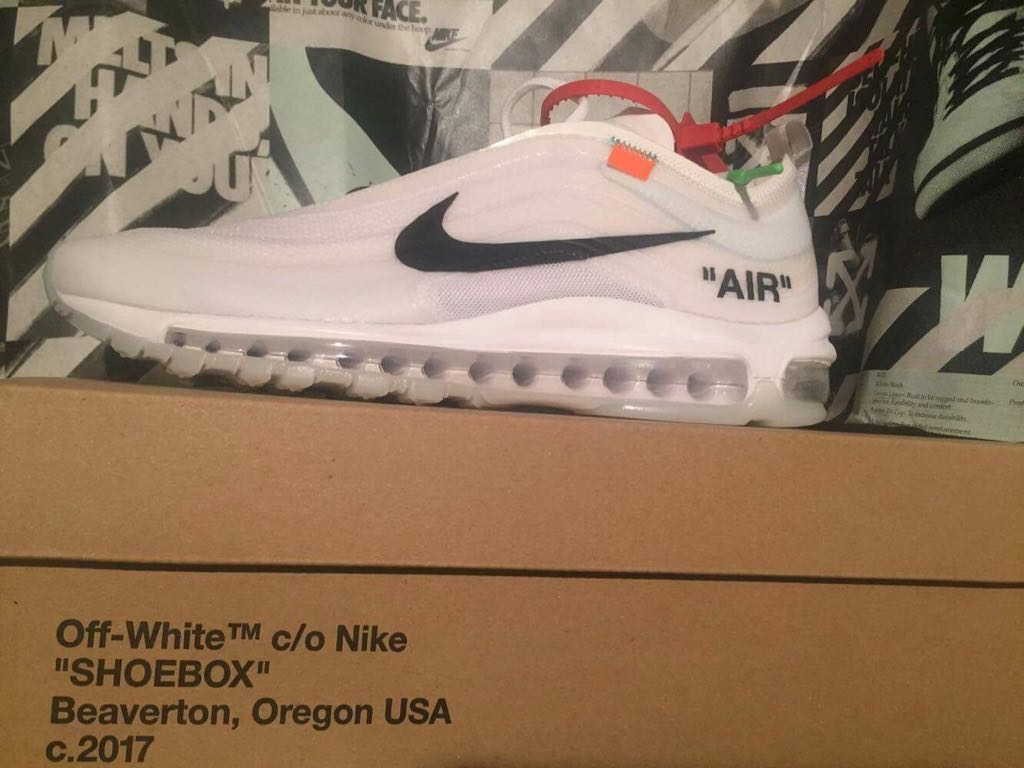 d1a9c0774 Nike Air Max 97 off white - 7085273430 - oficjalne archiwum allegro