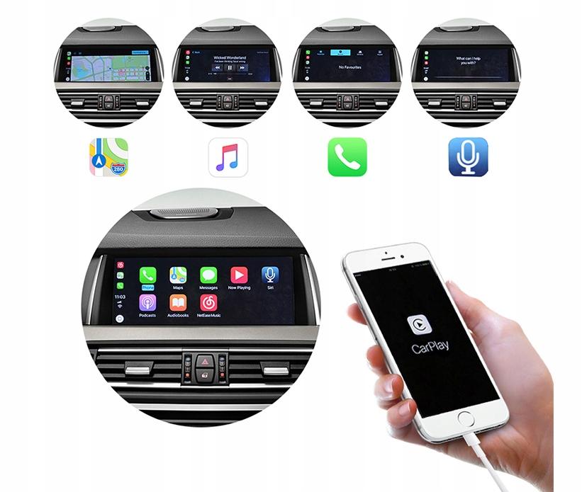 Moduł Apple CarPlay dla BMW NBT F10 F01 F07 F30 - 7606474023