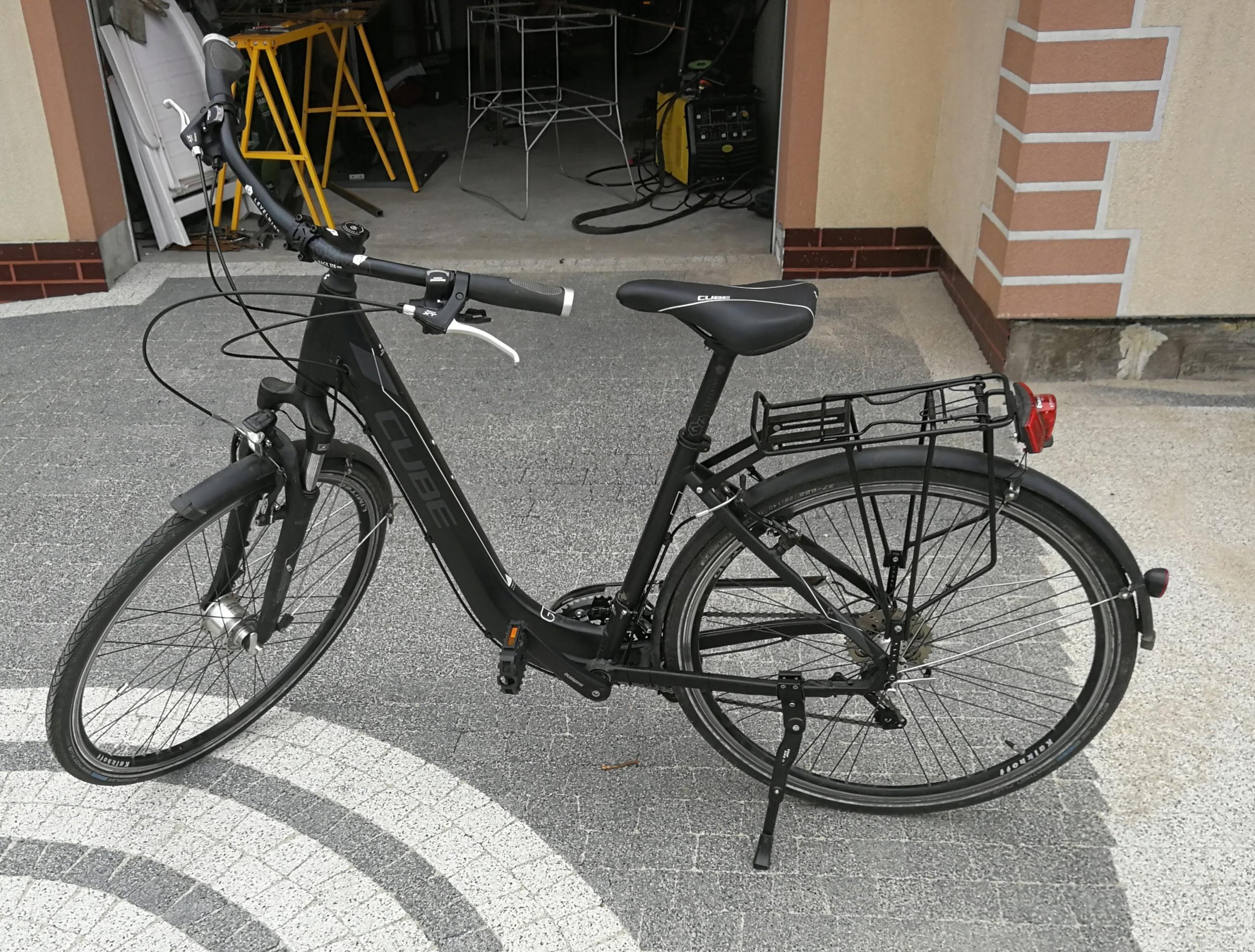 Sprzedam rower cube trekingowy