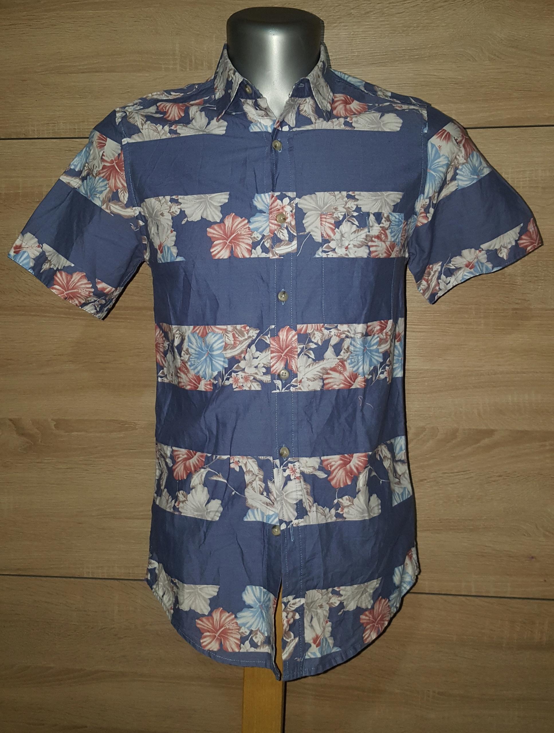 Koszula męska TOP MAN rozmiar XS.